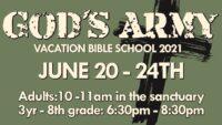 God's Army VBS 2021